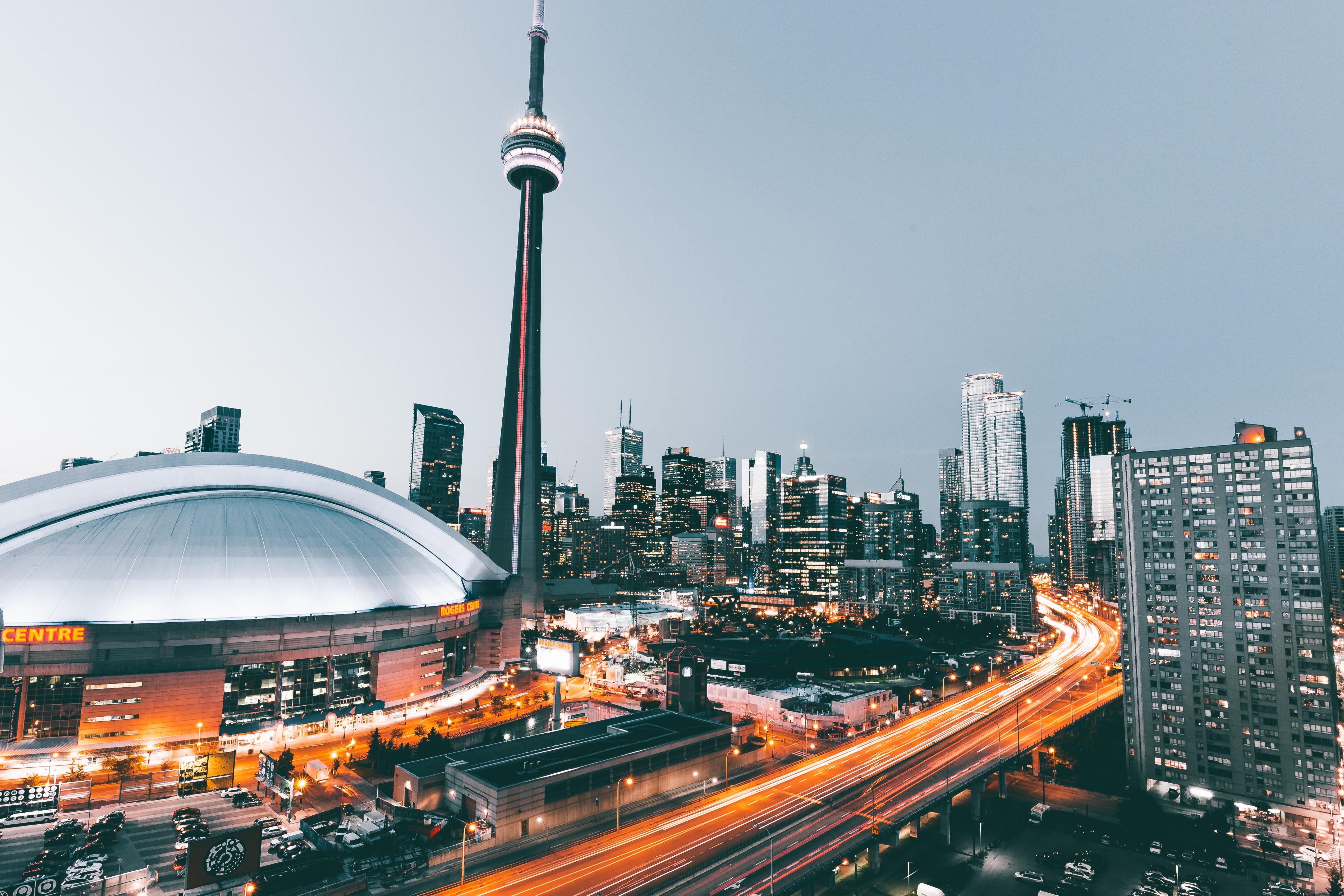 City view of Toronto